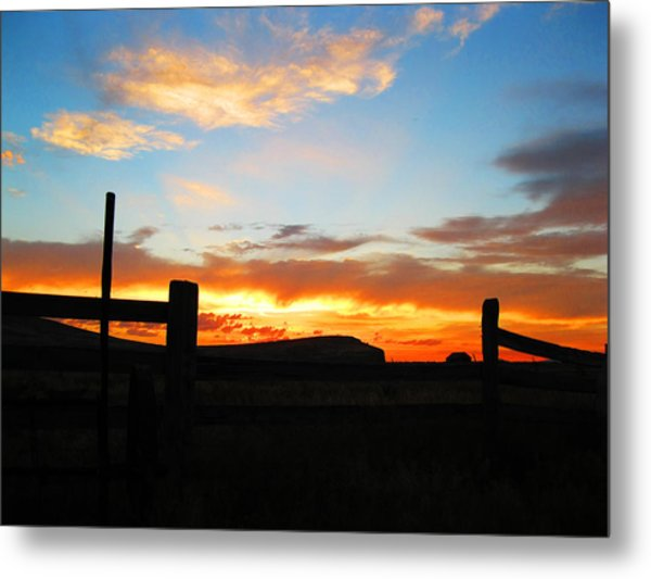 The Peninsula Metal Print