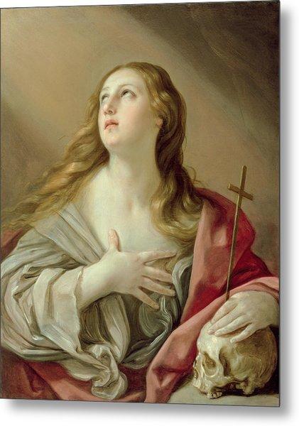 The Penitent Magdalene Metal Print