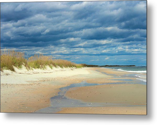 The Perfect Beach Shot Metal Print by Lisa Campbell