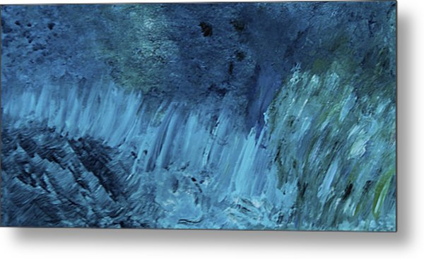The Perfect Storm - Sold - Oil Painting Metal Print
