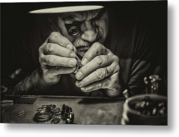 The Perfectionist Metal Print by Mandru Cantemir