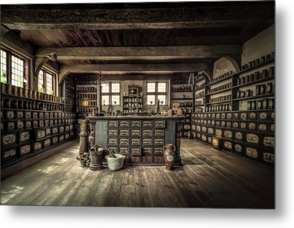 The Pharmacy Metal Print