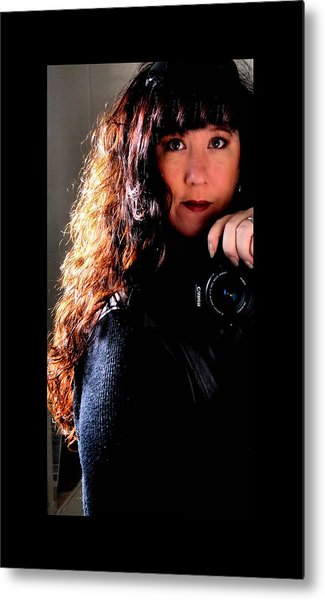 The Photographer Metal Print by Karen Scovill