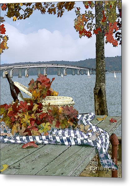The Picnic Metal Print