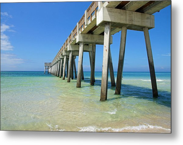 The Pier Metal Print by Thomas Fouch
