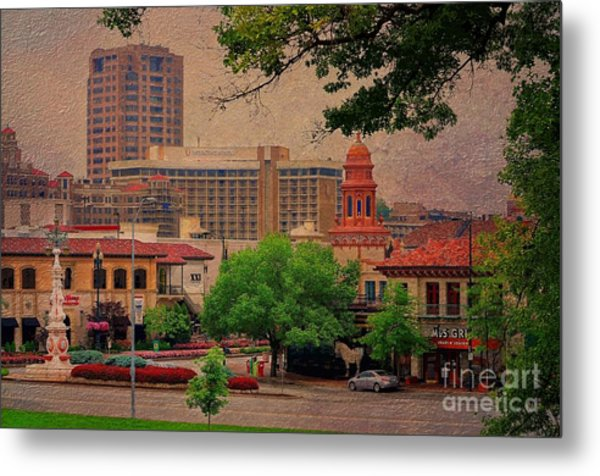 The Plaza - Kansas City Missouri Metal Print