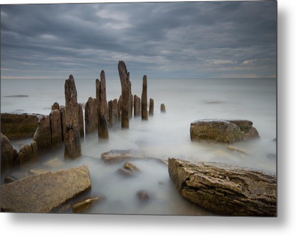 The Points Metal Print