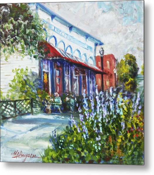 The Popcorn Shop In Chagrin Falls Oh Metal Print