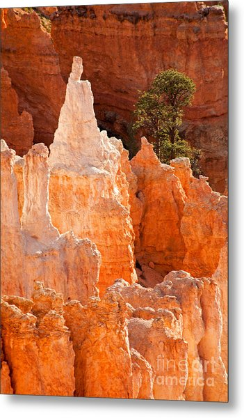 The Pope Sunrise Point Bryce Canyon National Park Metal Print