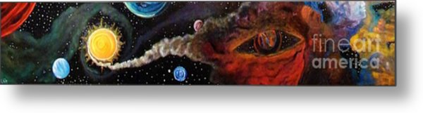 The Possibilities Of The Unknown  Metal Print by Rick  Gazdik