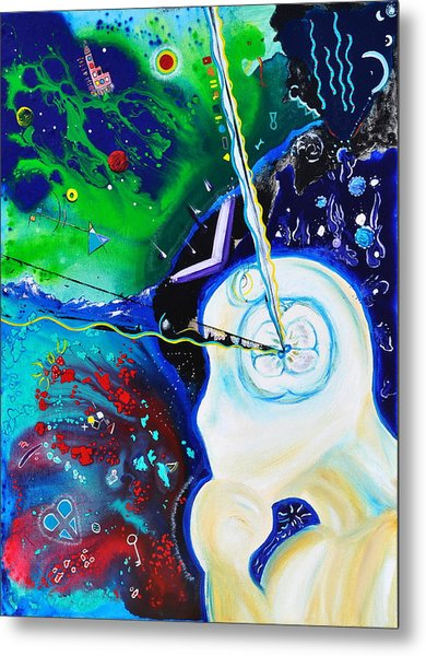 The Power Of Thought Metal Print