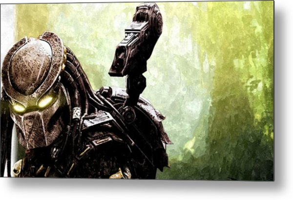 The Predator Metal Print