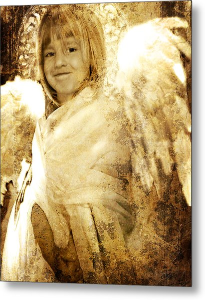 The Presence Of Angels Metal Print