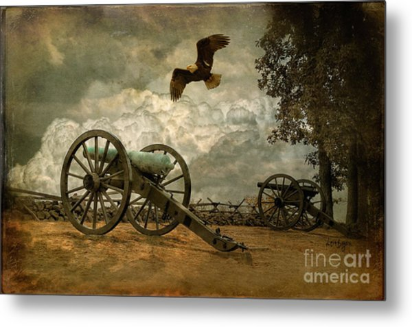 Metal Print featuring the photograph The Price Of Freedom by Lois Bryan
