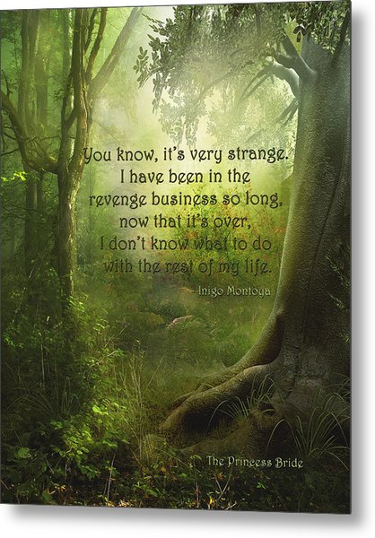 The Princess Bride - Revenge Business Metal Print