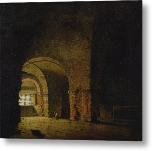 The Prisoner, C.1787-90 Oil On Canvas Metal Print