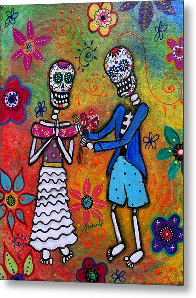 The Proposal Day Of The Dead Metal Print