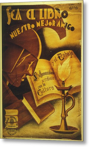 The Provincial Council Of  Valencia Metal Print by Mary Evans Picture Library