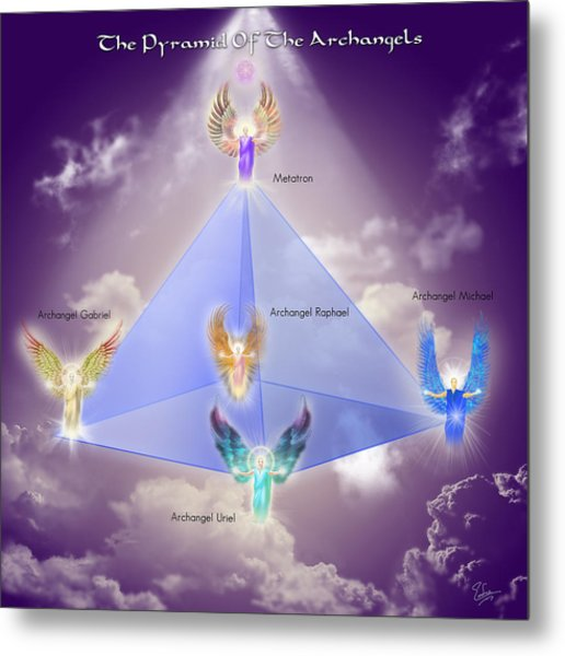 The Pyramid Of The Archangels Metal Print