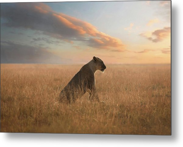 The Queen Metal Print