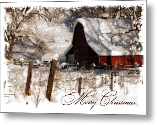 The Quiet - A Christmas Card Metal Print