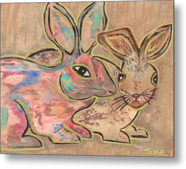 The Rabbit Hole  Metal Print by Tish Eggleston