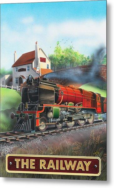 The Railway Metal Print