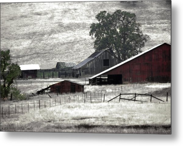 The Ranch View Metal Print