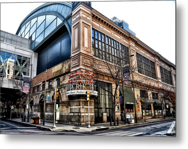The Reading Terminal Market Metal Print