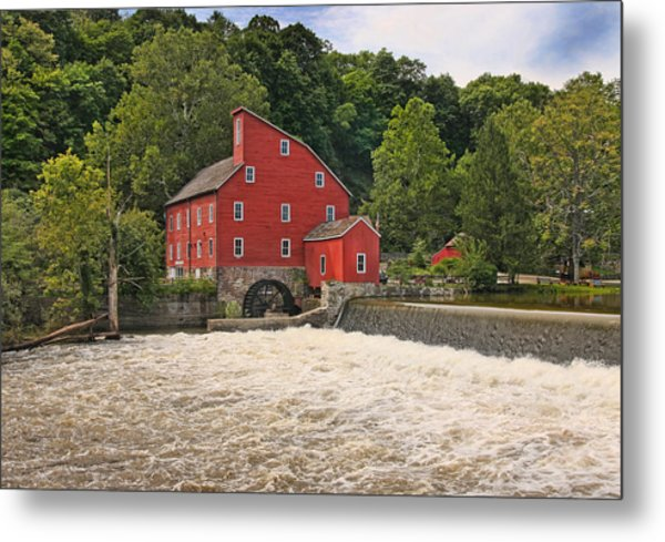 The Red Mill The Day After Irene Metal Print