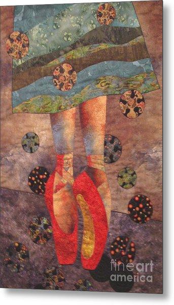 The Red Shoes Metal Print by Lynda K Boardman