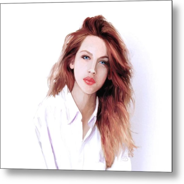 The Redhead Metal Print by G Cannon