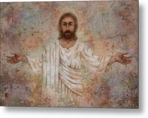 The Resurrection And The Life Metal Print
