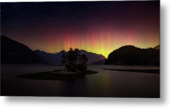 The Return Of The Aurora Borealis Metal Print