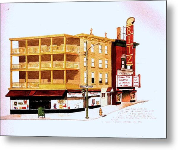 The Ritz Metal Print