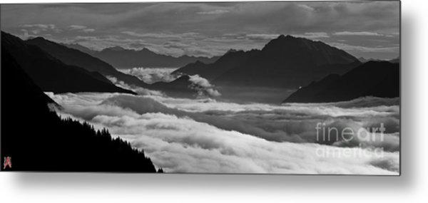 The River Of Clouds Metal Print by Marco Affini