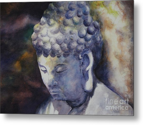 The Roadside Buddha Metal Print