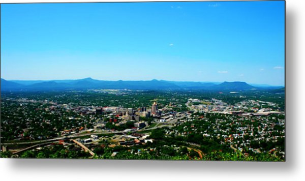 The Roanoke Valley Metal Print