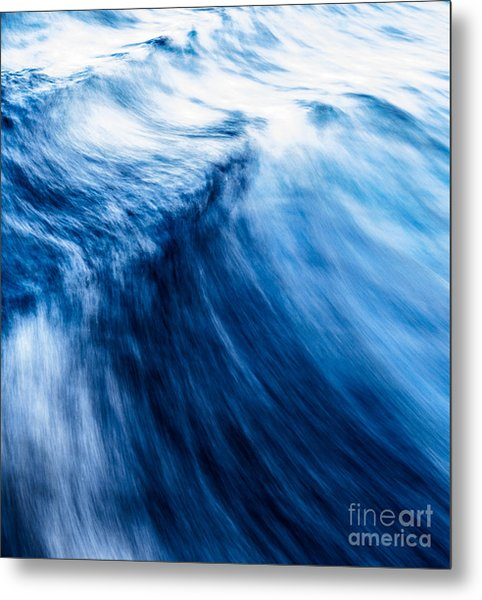 The Roar Of The Sea Metal Print