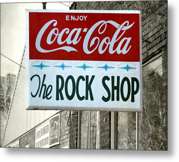 The Rock Shop Metal Print