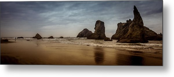 The Rocks At Bandon Metal Print