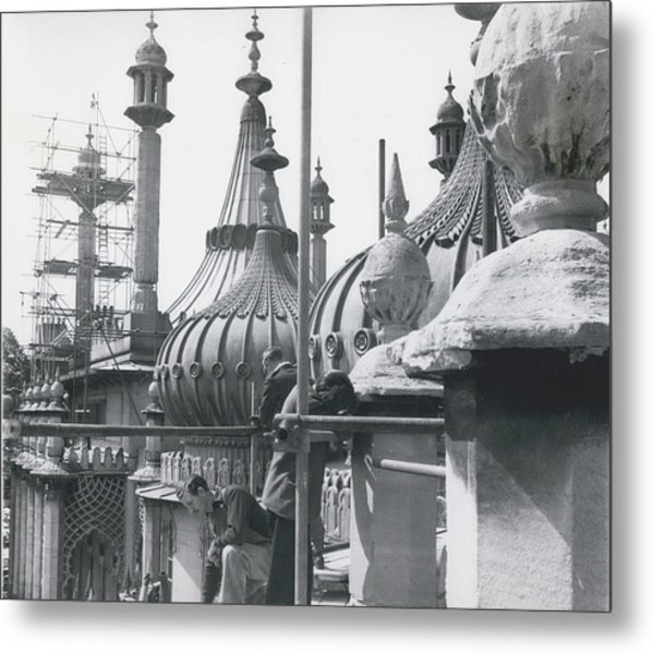 The Roof Metal Print by Retro Images Archive