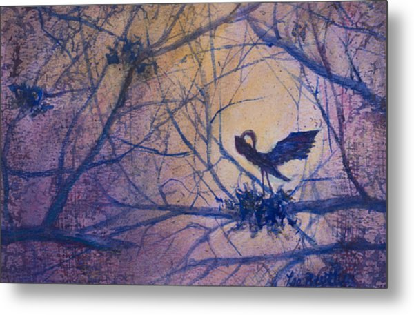 The Rookery Revisited Metal Print