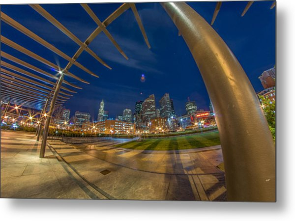 The Rose Kennedy Greenway Boston Ma Metal Print