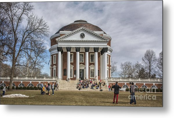 The University Of Virginia Rotunda Metal Print