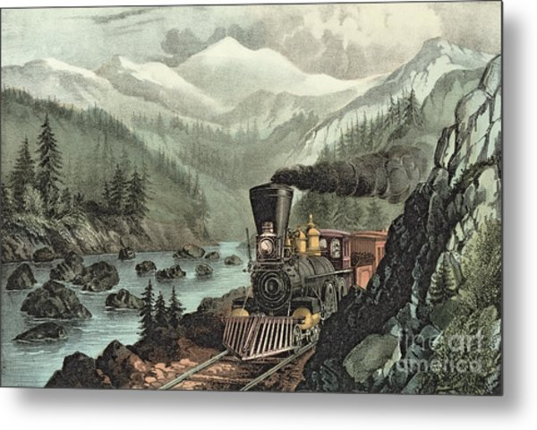 The Route To California Metal Print