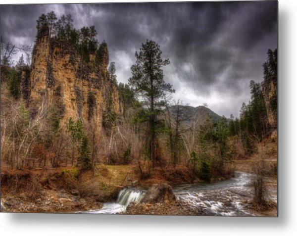 The Run Off Metal Print by Michele Richter