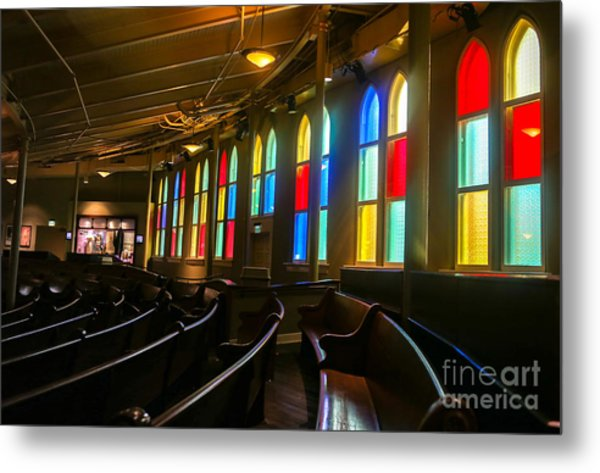 The Ryman Auditorium Metal Print