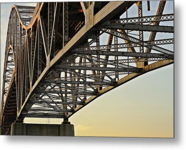 The Sagamore Bridge Metal Print