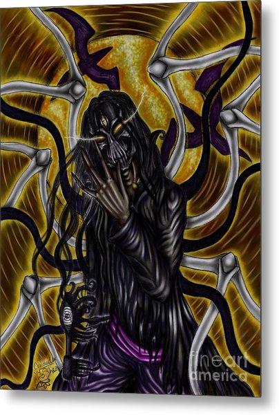 The Samhain King Metal Print by Coriander  Shea